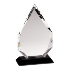 CRY005 Crystal Diamond on Black Base